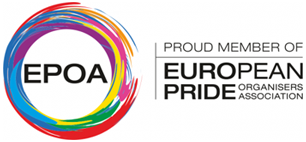 We are a Member of the European Pride Organisers Association